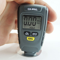 Digital LCD Coating Thickness Gauge Tester Car Automotive Paint Thickness Meter 1.25mm Iron Aluminum Base