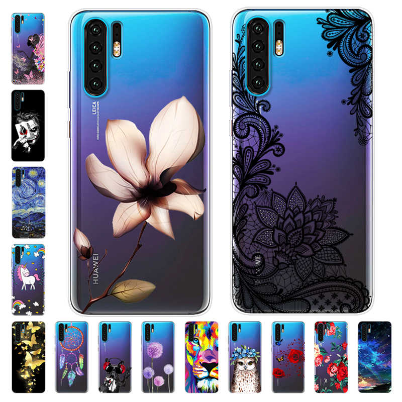 Cartoon Case Huawei P30 Lite Case Soft Silicone Back Cover Phone Case For Huawei P30 Lite Pro P30Lite P30Pro P 30