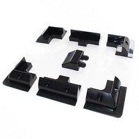 5 Set /Lot Biard Solar PV Panel Corner Mounting Brackets In Black For Solar Panel ( 7 PCS)