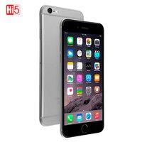 Разблокированный оригинальный Apple iPhone 6 plus смартфон IOS двухъядерный мобильный телефон 8,0 МП Камера 4,7 дюймов 3g WCDMA 4 аппарат не привязан к опер