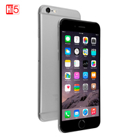 Unlocked Original Apple iPhone 6 Smartphone IOS Dual Core Mobile phone 8.0 MP Camera 4.7inch 3G WCDMA 4G LTE 16/64GB/128GB ROM