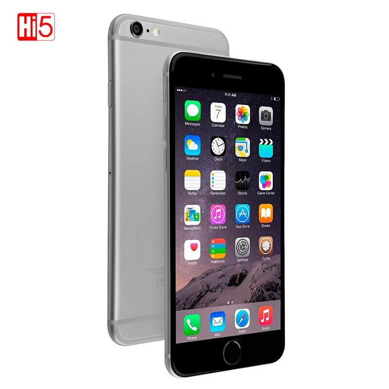 81a0270a07d Unlocked Original Apple iPhone 6 Smartphone IOS Dual Core Mobile phone 8.0  MP Camera 4.7inch 3G WCDMA 4G LTE 16/64GB/128GB ROM