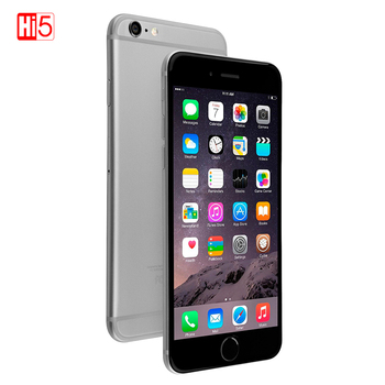 Unlocked Apple iPhone 6  iphone 6 Plus mobile phone 4.7 & 5.5 Dual Core 16G64GB128GB Rom IOS 8MP Camera 4K video LTE iphone 6