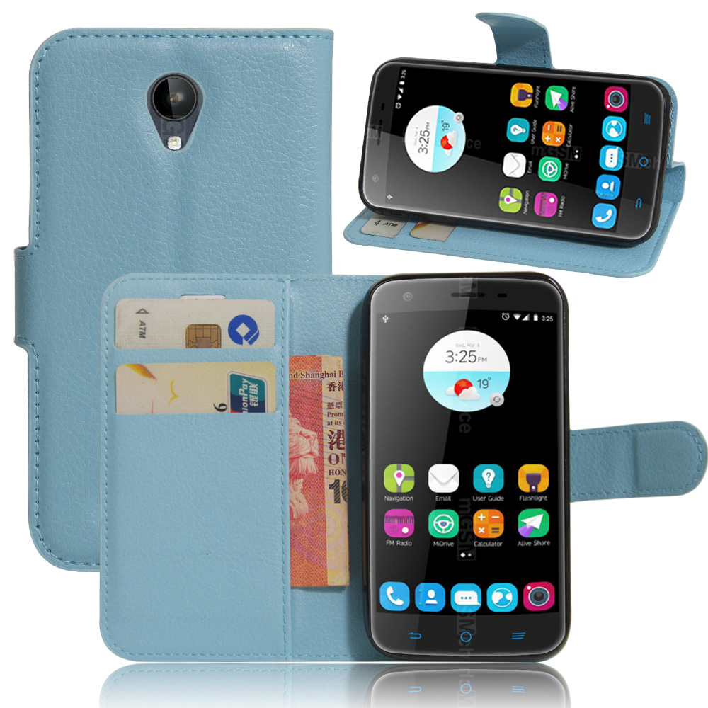 Case for ZTE Blade A462 / A310 Luxury Wallet PU Leather Case For ZTE Blade A462 Stand Flip Card Hold Phone Cover Bags