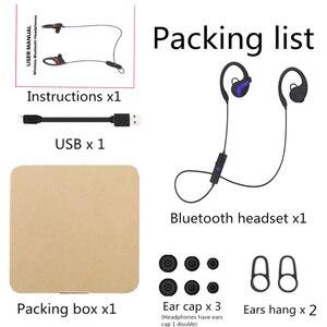 Image 5 - QAIXAG sans fil suspendu oreille sport Bluetooth casque CSR8645 véritable stéréo téléphone mobile accessoires pour téléphones mobiles avec Bluet