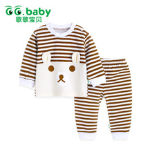 2pcs / set Barnas pyjamas for jenter Pijamas Infantil Cotton Sleepwear Kids Baby Pyjamas Set For Boys Underwear Clothing Suits