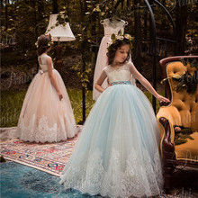 2b75c679e5bee Buy rose gold flower girl dresses and get free shipping on ...