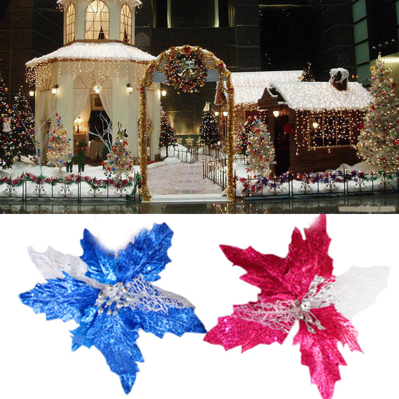 Cheap 1pcs sprinkle sequins hollow tree decorations for Home decorations for new year