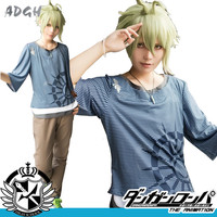 Game Danganronpa V3 Rantaro Amami Cosplay Costume Japanese Anime Cosplay Uniform Suit Outfit Clothes T Shirt