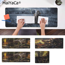 MaiYaCa New Designs STALKER   Natural Rubber Gaming mousepad Desk Mat Rubber PC Computer Gaming mousepad maiyaca hot sales anime steins gate natural rubber gaming mousepad desk mat large lockedge mousepad laptop pc computer mouse pad