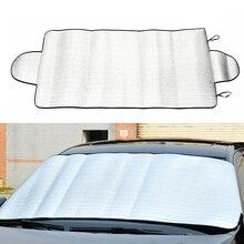 Автомобильные чехлы на лобовое стекло, защита от солнца, защита от снега, мороза, защита от пыли, УФ-защита, зима 150*70 см, оконная пленка