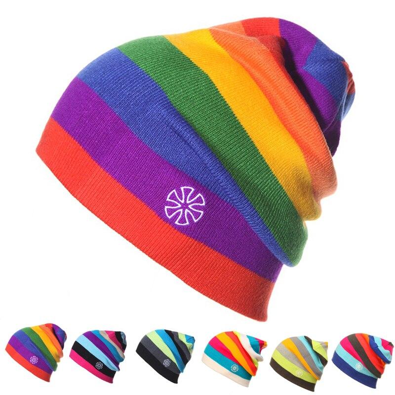 Frauen Winter Strickmützen Gorro Beanie Für Männer Frauen Mützen Mask Hut Mütze Freiensport Skifahren Chapeu Kappe