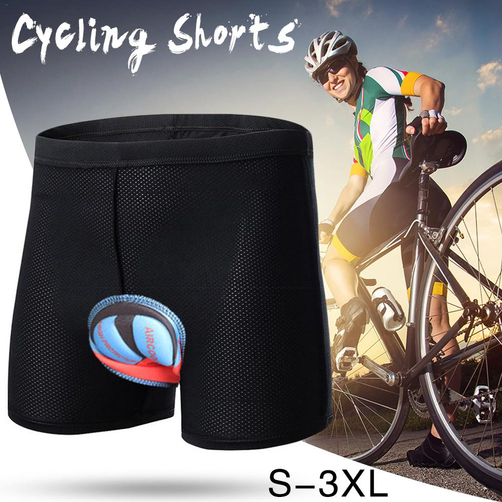 High Quality 2018 Pad Shorts Bicycle Cycling Underwear Silicon Gel 3D Padded Bike Short Pants Cycling Moto Shorts italian style fashion men s jeans shorts high quality vintage retro designer classical short ripped jeans brand denim shorts men