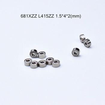 681ZZ 1.5*4*2 mm bearing 10pcs Metal Sealed Miniature Mini Bearing 681 681ZZ  chrome steel deep groove bearing r3zz bearing 4 763 12 7 4 98 mm abec 5 bearings metal sealed miniature bearing 3 16 x 1 2 x 0 196 inch r3 r3z r3zz