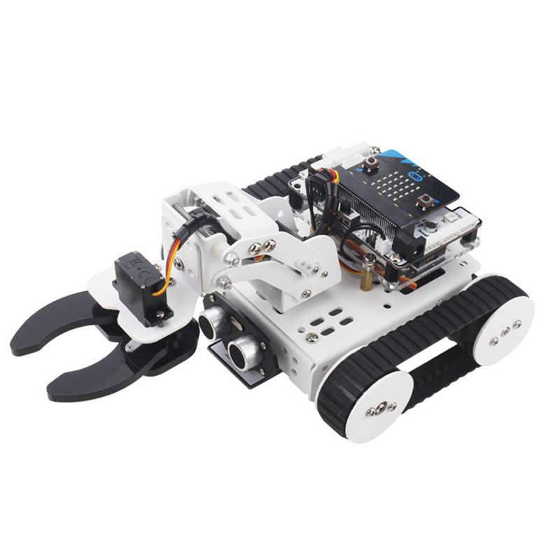 LOBOT 4 в 1 микро: бит умный программируемый ПК приложение контроль отслеживания RC робот автомобиль