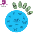 Beauty Nail Art AT Series AT12 Butterfly Design Popular New Style Nail Art Stamp Stamping Image Template Plate Mold Gift