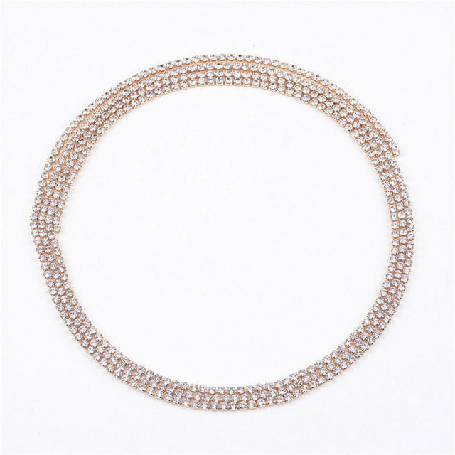 Women Bling Wrap Necklace...