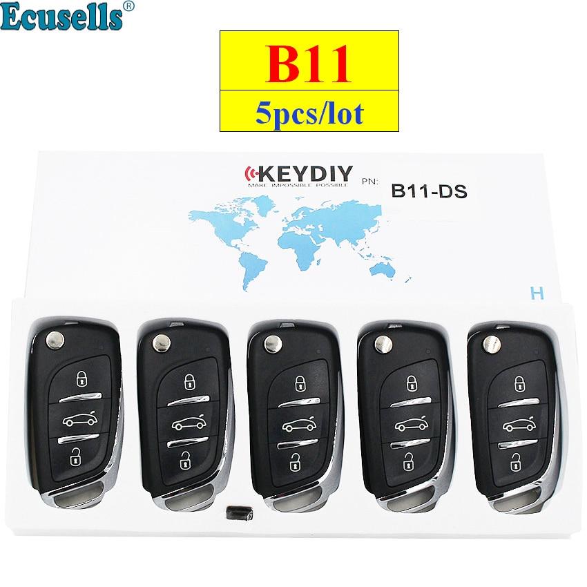 5pcs lot KEYDIY B series B11 3 button universal KD remote control for KD200 KD900 KD900