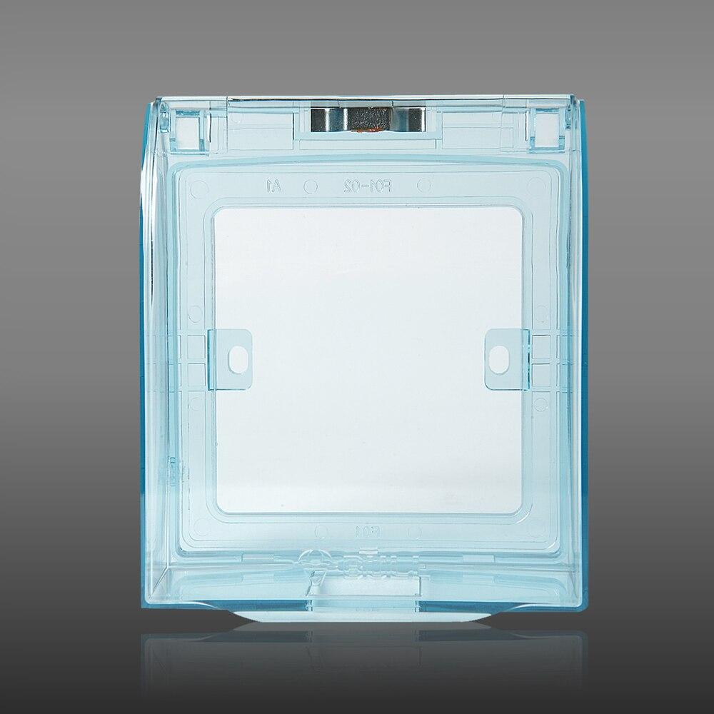 stieren schakelstopcontact 86 doos transparant waterdicht ...