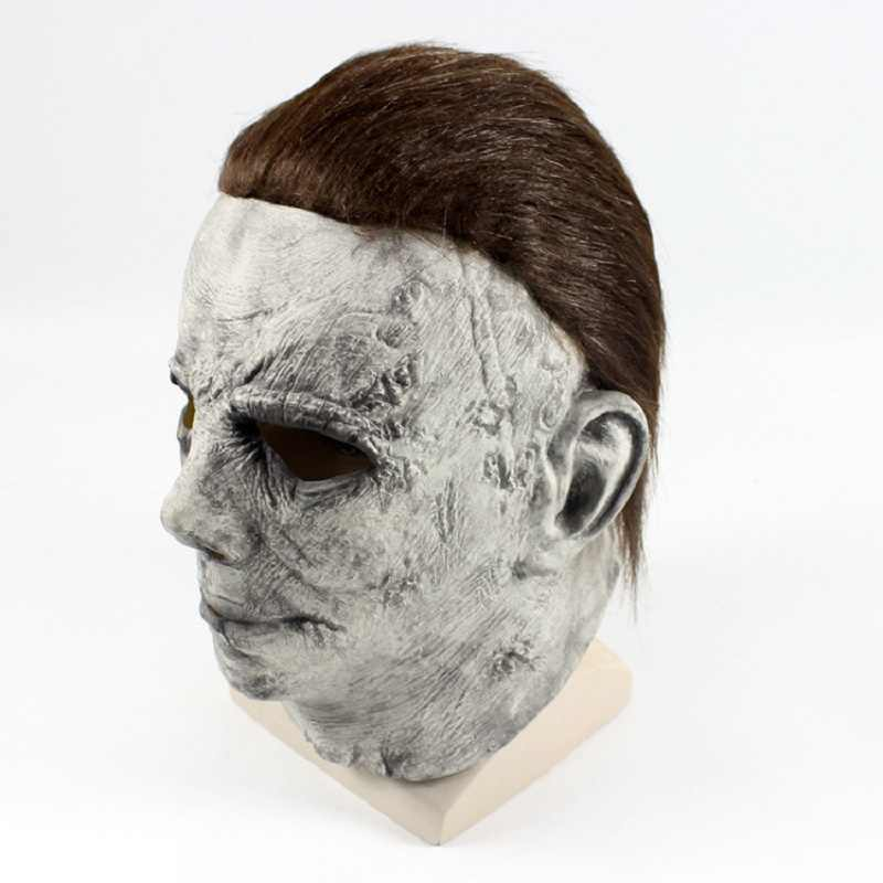 Movie Horror Michael Myers Mask Halloween Cosplay Scary Latex Masks Horror Helmet Party Costumes For Adult