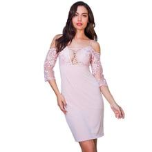 MUXU PINK lace dress patchwork vestidos pencil streetwear bodycon suspender women clothing kleider fashion sukienka