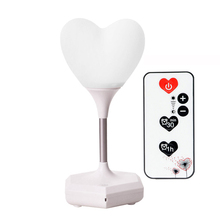 Led Charging Decorative Lamp Usb Night Light remote loving heart Novelty Baby 3D Atmosphere light Bedside girl gift Touch bulbs led colour changeable led night light touch multifunctional usb charging music speaker lamp atmosphere gift light lamp iy303140