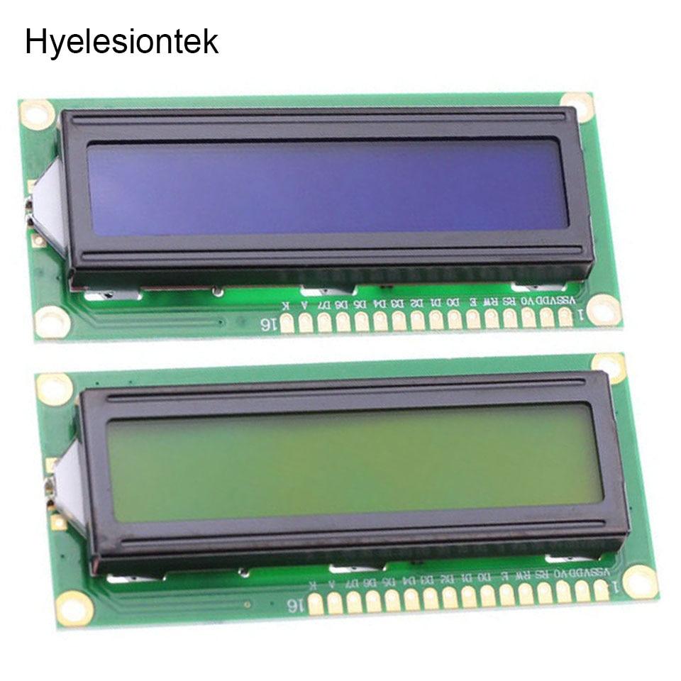 1602 LCD Display For Raspberry PI LCD 1602 Display Module For Arduino Nano 16X2 Character 5V Green / Blue Screen White Code