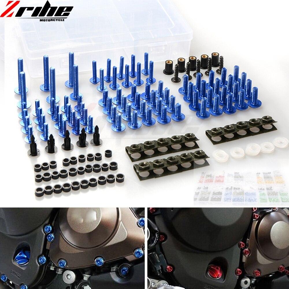 Pour aluminium moto accessoires carénage boulon vis attache Fixation modifié universel pour Honda CB 599 919 400 CB600 HORNE