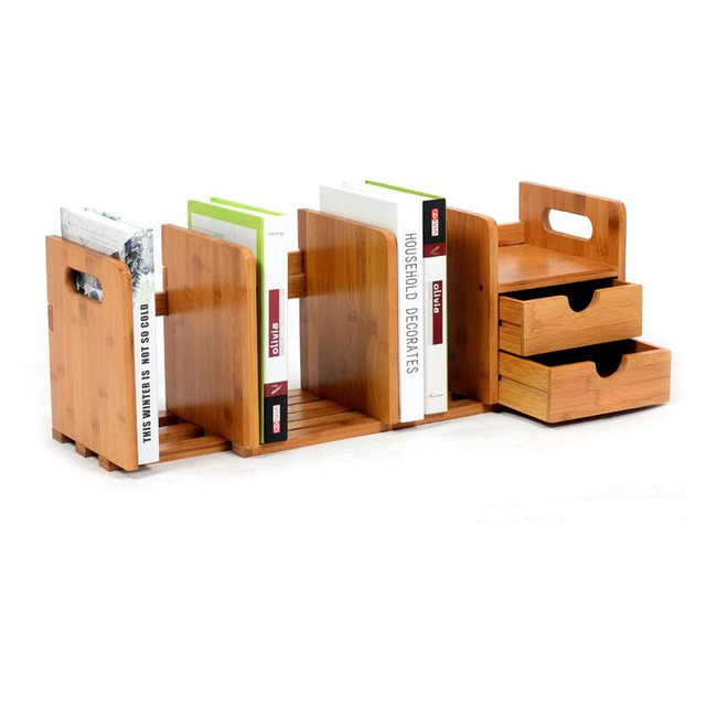 diy office storage. Creative DIY Jewelry Storage Organizer Desktop Sundries Drawer Books Wooden Office Home Study Shelf Diy