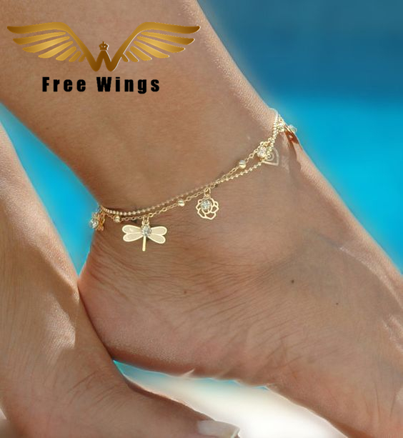 Aliexpress.com : Buy Gold Bohemian Anklet Beach Foot ...