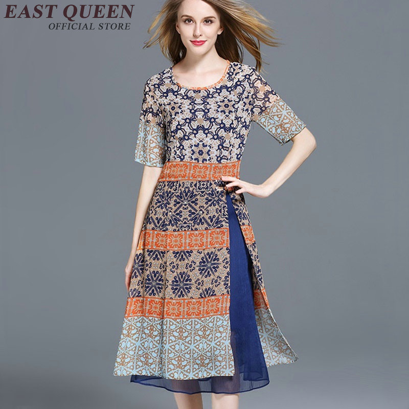 be713cb858827 US $35.2 45% OFF|Hippie bohemian style dress hippie clothing women boho  chic dresses NN0831 C-in Dresses from Women's Clothing on Aliexpress.com |  ...