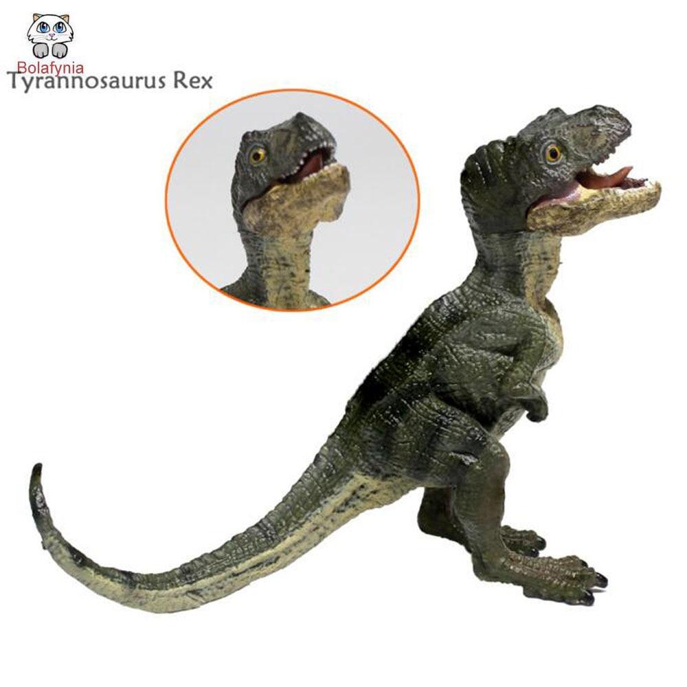 BOLAFYNIA Children Dinosaur Toy samll Tyrannosaurus Rex cubs model toy baby kids for Christmas Birthday Gift