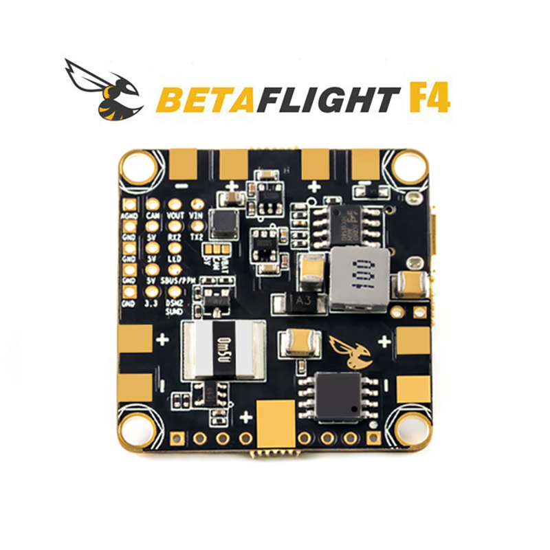 100% حقيقية Betaflight F4 وحدة تحكم في الطيران F405 المعالج MPU6000 الدوران/ACC BEC ماكس الحالي 5 فولت 1.5A ل DIY RC سباق Drone-في قطع غيار وملحقات من الألعاب والهوايات على  مجموعة 1
