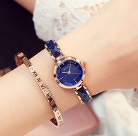 KIMIO Montre Femme New Fashion Women Dress Rhinestone Bracelet Quartz Wrist Watch Women S Casual All