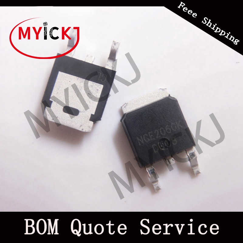5PCS NCE2060K TO-252  IC CHIP NCE N-Channel Enhancement Mode Power MOSFET