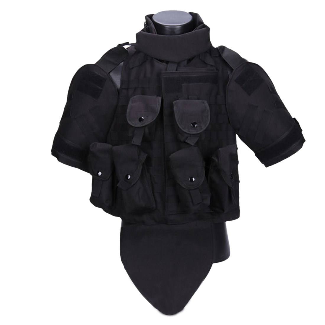 Wolf Slaves Interceptor Modular OTV Body Armor Tactics Vest Outdoor Molle Hunting Vest for Airsoft Paintball