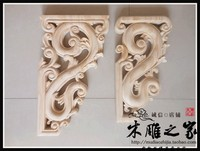 Dongyang holzschnitzerei antiken holz Tempel geschnitzten konsolen Von Einrichtungs gun winkel strahl pistole blume stigma partition lintel