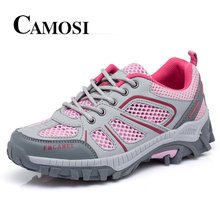 Camosi New Outdoor Trekking Shoes Men Lightweight Trekking Shoes Quick-Drying Breathable Men Aqua Shoes Summer Free shipping