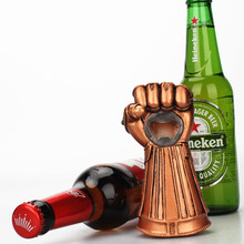 The Avengers Thanos Gauntlet Glove Beer Bottle Opener Fashionable Useful Soda Glass Cap Remover Tool Household