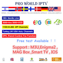 GOTiT 6000+World Pro Israel HD Jewish IPTV Subscription for Android Smart TV Nordic Scandinavian Hebrew Spain Dutch France M3U(China)