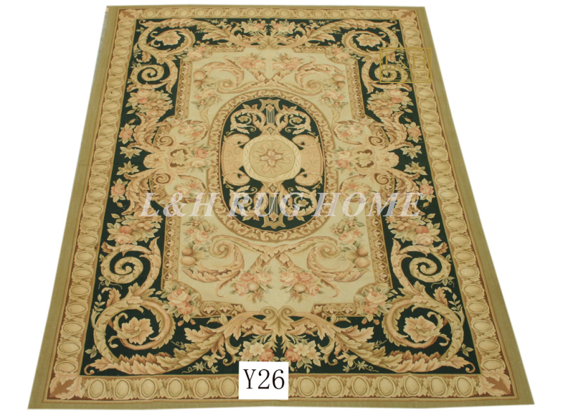 Free shipping 6X9 French Aubusson weave rugs handmade aubusson carpetsFree shipping 6X9 French Aubusson weave rugs handmade aubusson carpets