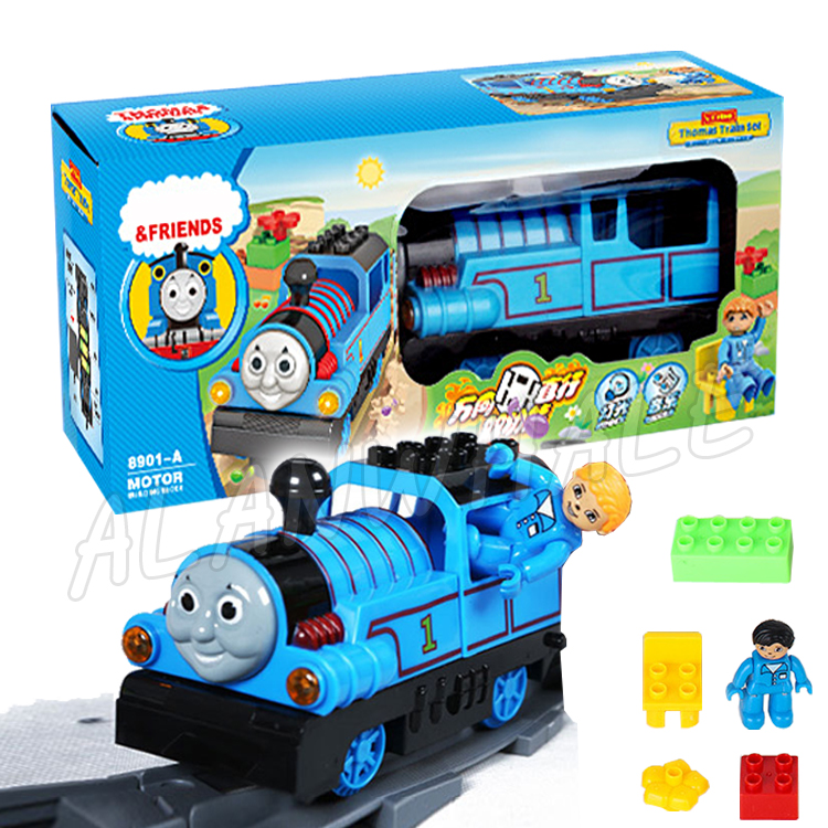 Electric Locomotive Engine Diecast Metal Trains Trackmaster Model Building Blocks Assembly Thomas and Friends Railway Toy Bricks