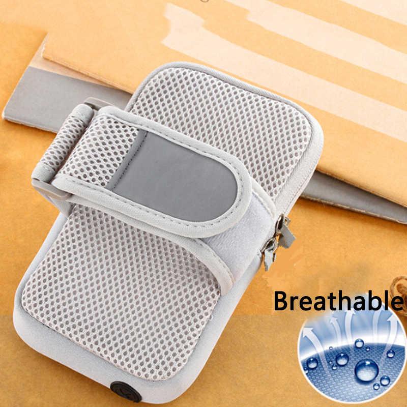 شارة الذراع الفرقة غطاء هاتف مضاد للماء غطاء تشغيل الرياضية حزام كيس مزموم ل فون 7 6 6 ثانية/Xiaomi Redmi ملاحظة 4.7 ''الهاتف