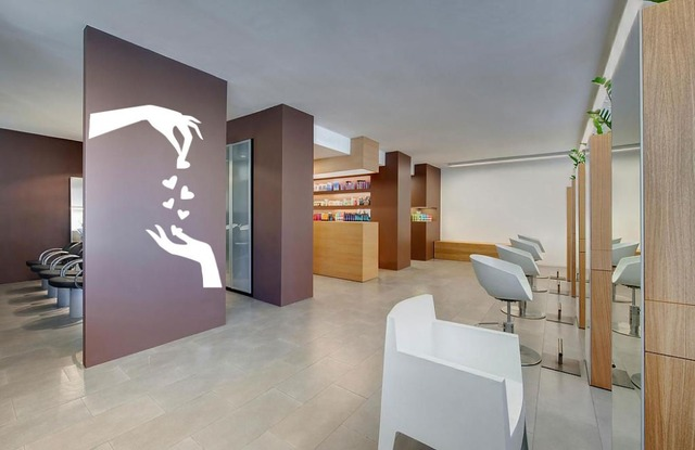 Herenkapper barbershop vinyl muurtattoo salon spa beauty muursticker