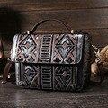 Women Genuine Leather Tote Bag High Quality First Layer Cowhide Vintage Handbag Famous Brand Cross Body Messenger Shoulder Bag