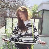 Striped shirt women KK309
