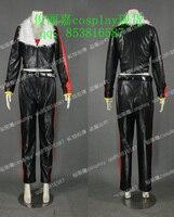 Mobius Encyclopaedia Sonic the Hedgehog Black Uniform Outfit Cosplay Costume J001