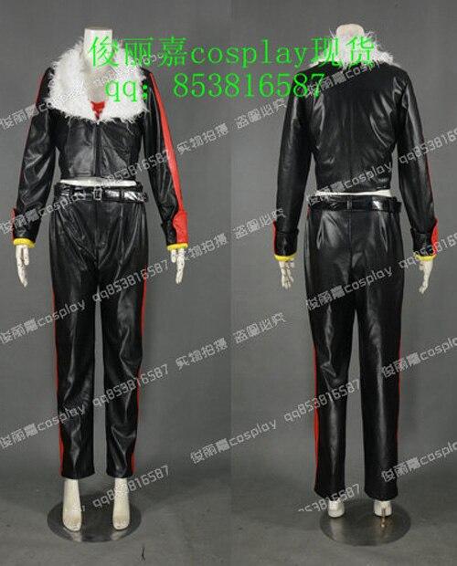 Mobius Encyclopaedia Sonic le hérisson tenue uniforme noir Costume Cosplay J001