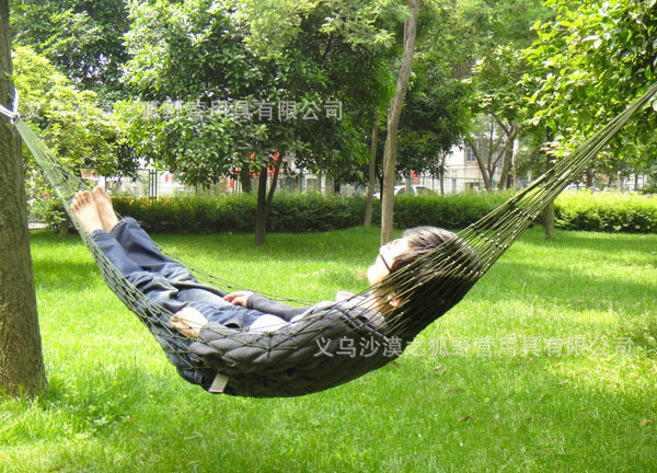 Charmant 2015 Outdoor Light Net Bed Firm Hammock Garden Swing Hanging Rocking  Camping Chair Convenience Nylon Hammock