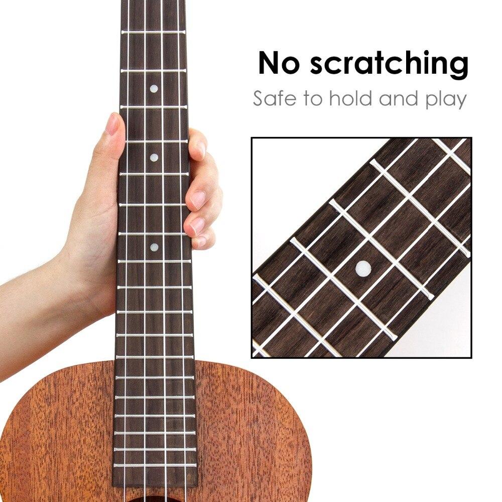 Kmise baryton ukulélé 30 pouces acajou Ukelele Uke 4 cordes Hawaii guitare - 2